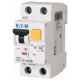 Eaton Wyłącznik różnicowo-nadprądowy CKN6-13/1N/C/001-DE 2P 13A C 0,01A typ AC - 241163