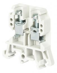 Pokój Złączka szynowa gwintowana ZUG-G10 biała A11-0202