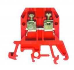 Pokój Złączka szynowa gwintowana ZUG-G10 czerwona A11-0207