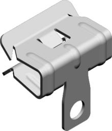 Baks Zacisk ZSU1 16/2 8-14mm stal sprężysta cynkowana (797501)