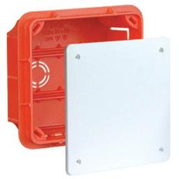 Elektro-Plast Puszka podtynkowa PP/T3 100x100x62mm pomarańczowa (11.3)