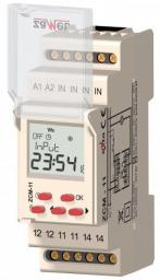 Zamel Programator czasowy 1-kanałowy tygodniowy 230V AC (ZCM-11)