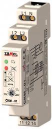 Zamel Przekaźnik kolejności faz 10A 1P 230/400V AC CKM-01