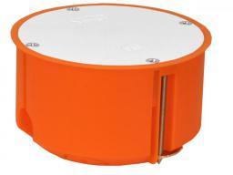 Simet Puszka regips P80F 80mm z przykręcaną pokrywą pomarańczowa (33244008)