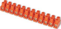 Simet Listwa zaciskowa LTF12-2.5 1-2,5mm2 12-torowa pomarańczowa - 21210008