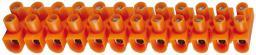 Simet Listwa zaciskowa LTF12-6 6mm2 12-torowa pomarańczowa - 21412008
