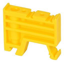 Pokój Trzymacz KU-1/TS35 żółty A44-1201