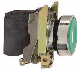 Schneider Electric Przycisk sterowniczy 22mm zielony z samopowrotem - XB4BA31