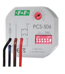 F&F Przekaźnik czasowy wielofunkcyjny 230V 10A (PCS-506)
