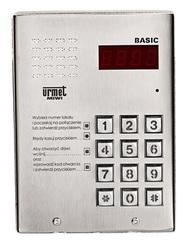 Miwi Urmet Panel wywołania z daszkiem BASIC - 1062/100D