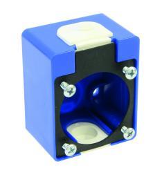 PCE Puszka natynkowa do gniazda P-NOVA 1040-0 i 1050-0 niebieska IP54 - 106-0H