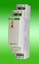 F&F Przekaźnik impulsowy 240V 16A 1 moduł IP40 (BIS-411)