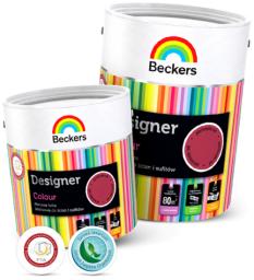 BECKERS Designer Colour farba do wnętrz emulsja lateksowa silver pearl 5L
