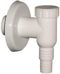 Syfon do pralki i zmywarki ONNLINE natynkowy biały (E-693044)