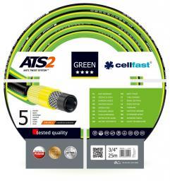 """Cellfast Wąż ogrodowy Green 3/4"""" 25m (15-120)"""