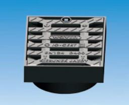 Wavin Wpust żeliwny 315mm kl.D400/40T kwadrat do rury teleskopowej - 3164144715