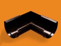Wavin Narożnik zewnętrzny Kanion 100x100/90 PVC grafitowy (3060352309)