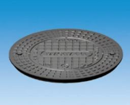 Wavin Pokrywa żeliwna 400mm kl.A15/1.5T do rury karbowanej 2 śruby (3164144720)