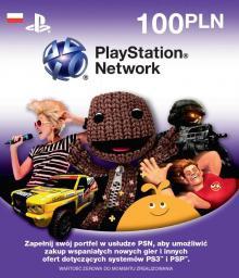 Sony Playstation® Network kod doładowujący 100 zł