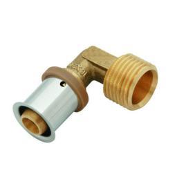 """KAN-therm Kolano Press 90° z pierścieniem zaprasowywanym GZ 20x2/G1/2"""" K-081025"""