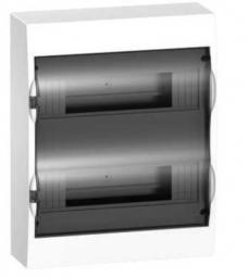 Schneider Electric Rozdzielnica N/T 2 rzędy 24 moduły EASY9 drzwi tansparentne - EZ9E212S2S