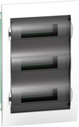 Schneider Electric Rozdzielnica P/T 3 rzędy 36 modułów EASY9 drzwi transparentne - EZ9E312S2F