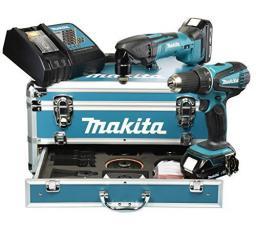Makita Zestaw akumulatorowy Combo 18V DDF456 + DTM50 + walizka + akcesoria  - DLX2031YX1
