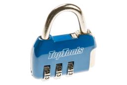 Top Tools Kłódka szyfrowa 35mm 3-cyfrowy kod mix kolorów (90U218)