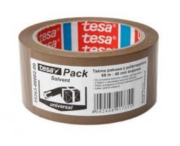 Tesa Taśma pakowa uniwersalna Solvent 66m 48mm brązowa (H5526302)