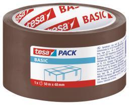 Tesa Taśma pakowa BASIC brązowa 50m 48mm H5857300