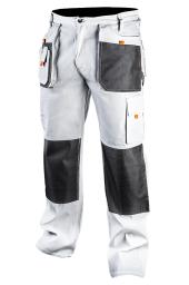 NEO Spodnie robocze białe rozmiar L/52 (81-120-L)