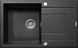 Deante Zlewozmywak 1-komorowy Rapido z ociekaczem alabaster ZQK A113
