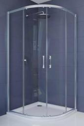 Huppe Kabina prysznicowa Ena 2.0 z drzwiami przesuwnymi 80 x 80 x 190cm (140601069322)