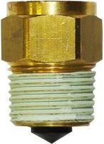 """Afriso Zawór montażowy z zaworkiem stopowym 1/4"""" GW x 1/2"""" GZ 77914"""