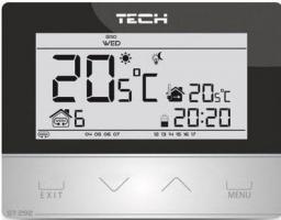 Tech Regulator pokojowy dwustanowy bezprzewodowy czarny (ST-292V2)