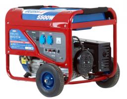 Dedra Agregat prądotwórczy moc 5,0 kW AVR 8,3A z kółkami - DEGB6500K