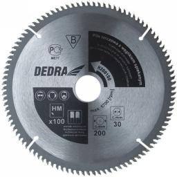 Dedra Piła tarczowa 210x30 100z. z płytkami węglikowymi (H210100)