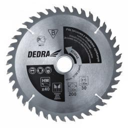 Dedra Piła tarczowa 200x30mm 40z. z węglikiem spiekanym (H20040)