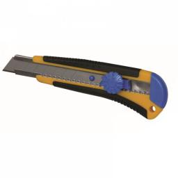 Dedra Nóż 18mm uchwyt gumowe ostrza 1+1 - M9016