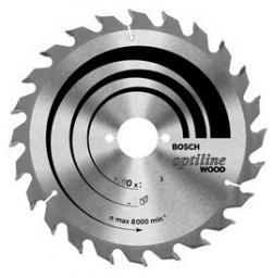 Bosch Piła tarczowa Optiline Wood H 190x2,6x30mm 60 zębów 2608641188