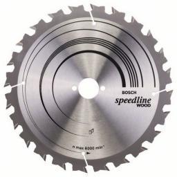 Bosch Piła tarczowa Speedline Wood 250x3,2x30mm 24 zęby 2608640680