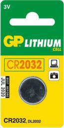 GP Bateria CR2032 210mAh 1szt.