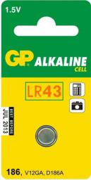 GP Bateria Cell LR43 1szt.