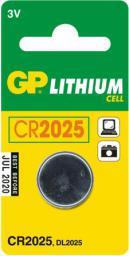 GP Battery Bateria CR2025 165mAh 1szt.