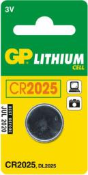 GP Bateria CR2025 165mAh 1szt.