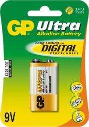 GP Bateria ULTRA ALKALINE 1604AU 9V - 1604AU-U1