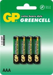 GP Bateria Greencell AAA / R03 4szt.