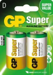 GP Battery Bateria Super D / R20 2szt.