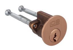 LOB Wkładka do zamka wierzchniego klucz z nasadką nikiel 1szt. (WT07)