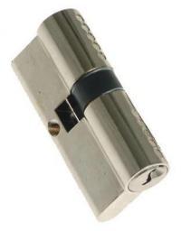 LOB Wkładka symetryczna bębenkowa Yeti 30x30mm nikiel satyna WK 61000N